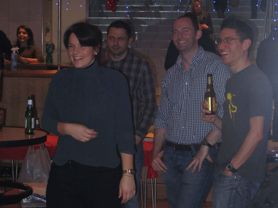 Synaptic Plasticity and Repair Group (Vincenzo De Paola) – Christmas 2011, 09 December 2011