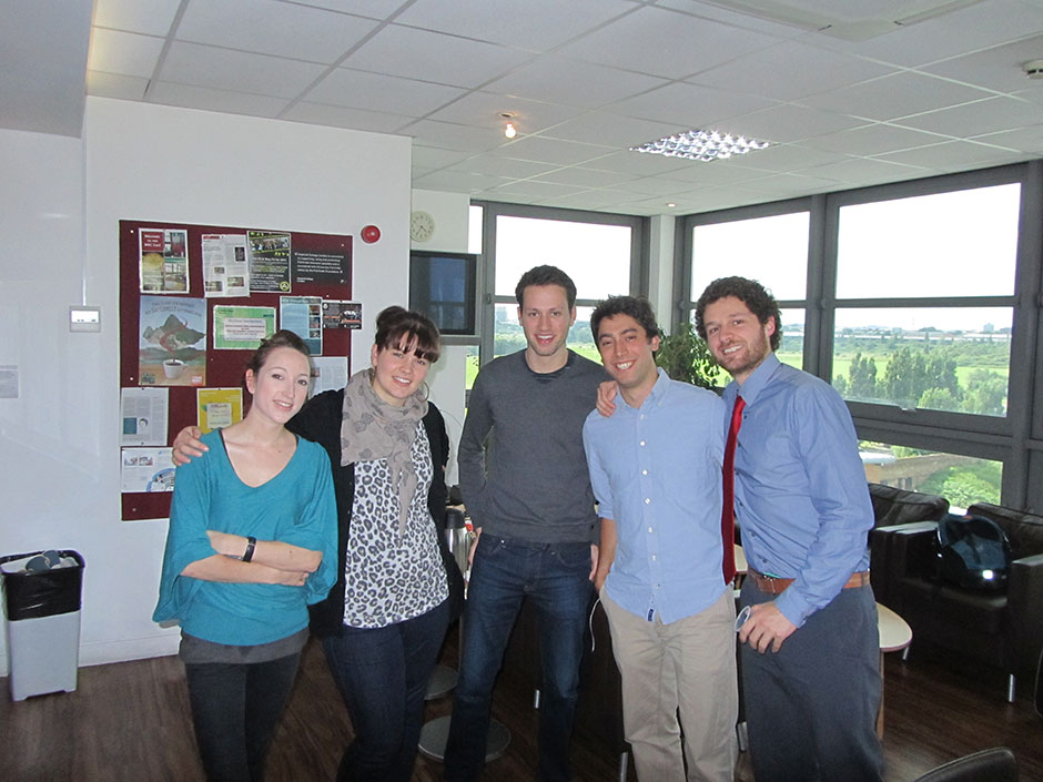 Synaptic Plasticity and Repair Group (Vincenzo De Paola) – Federico Grillo PhD viva, 04 June 2013