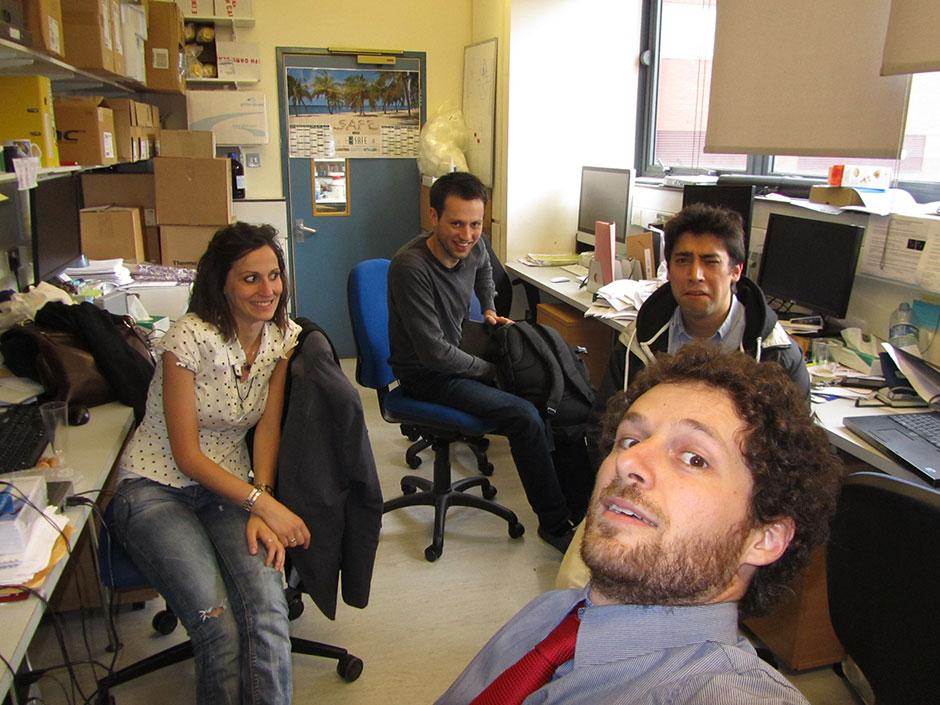 Synaptic Plasticity and Repair Group (Vincenzo De Paola) – Federico Grillo PhD viva, 04 June 2013