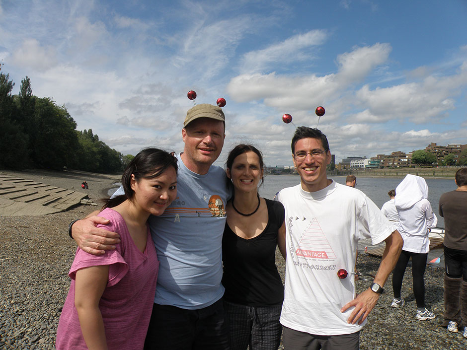 Synaptic Plasticity and Repair Group (Vincenzo De Paola) – Parr's Priority Regatta, 15 August 2009