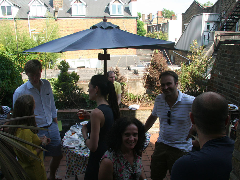 Synaptic Plasticity and Repair Group (Vincenzo De Paola) – Barbecue, 19 August 2012