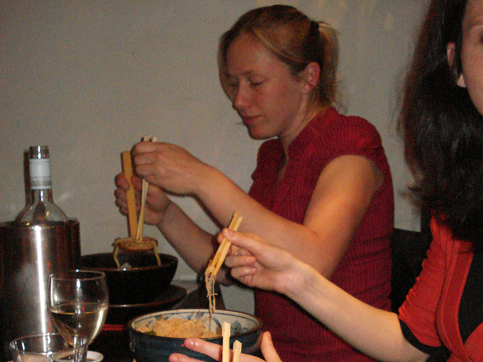 Synaptic Plasticity and Repair Group (Vincenzo De Paola) – Dinner out, 26 May 2010