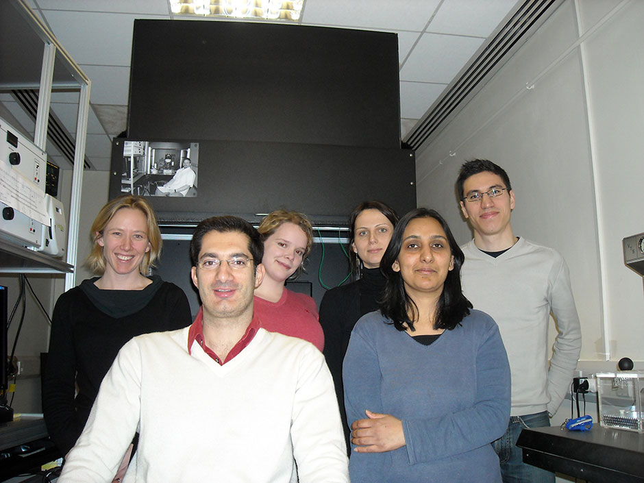 Synaptic Plasticity and Repair Group (Vincenzo De Paola) – The Group, 2009