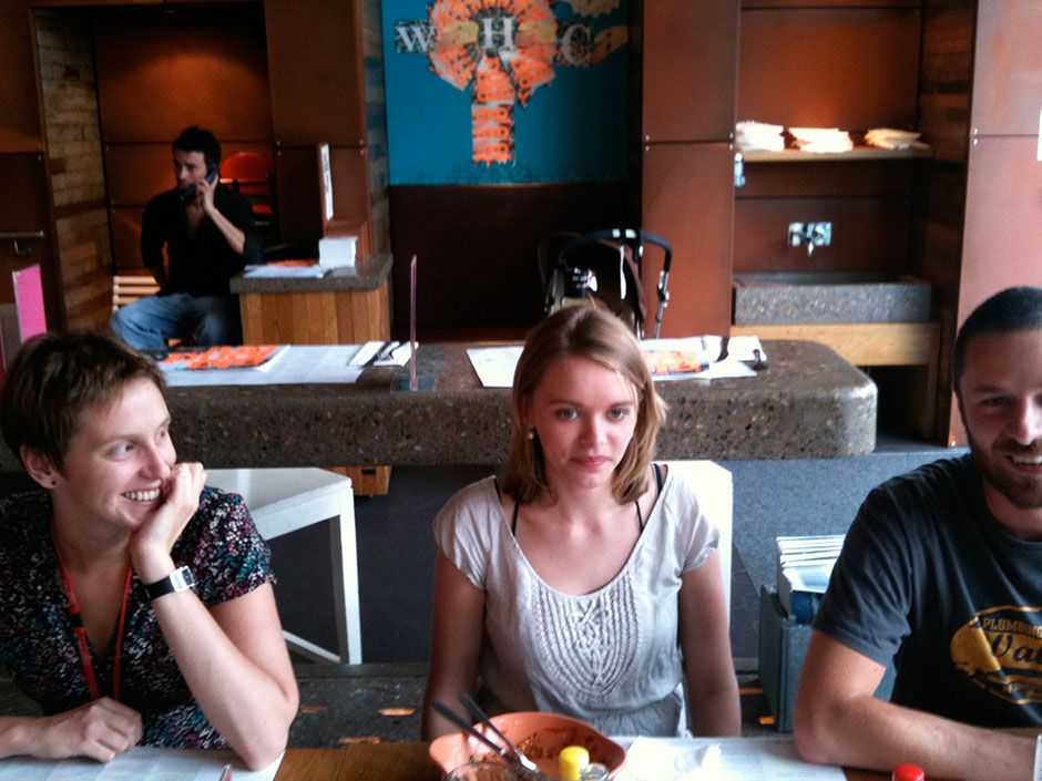 Synaptic Plasticity and Repair Group (Vincenzo De Paola) – Goodbye lunch, 21 July 2010