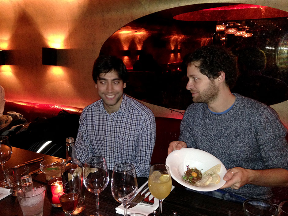 Synaptic Plasticity and Repair Group (Vincenzo De Paola) – Dinner, 14 November 2013