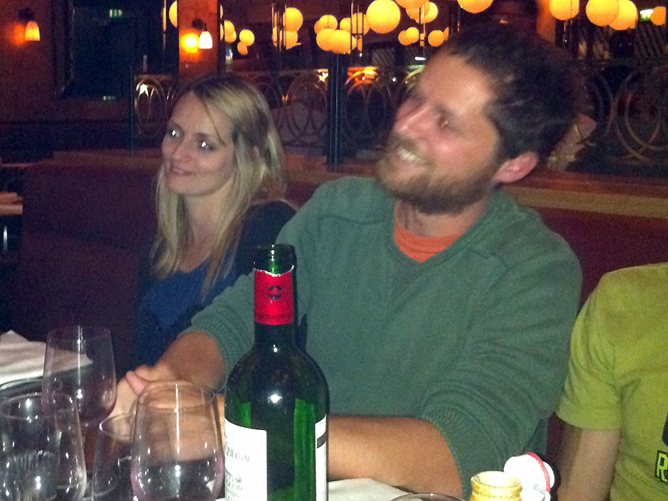 Synaptic Plasticity and Repair Group (Vincenzo De Paola) – Goodbye dinner for Cyrus Darawulla, 26 August 2011