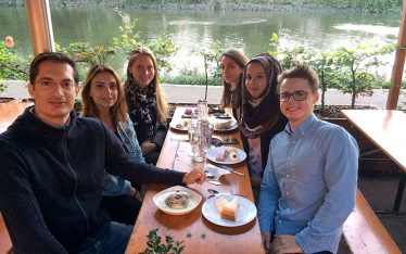 Synaptic Plasticity and Repair Group (Vincenzo De Paola) – Dinner at Stein's Richmond, Richmond upon Thames, London 31 July 2017